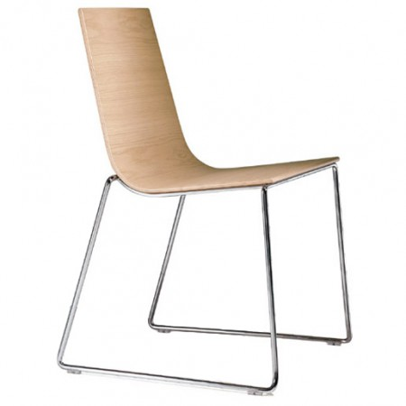 Lineal Sled Chair
