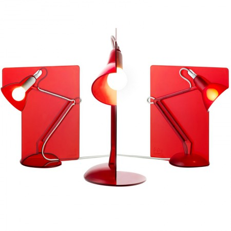Red Fifty Lamp