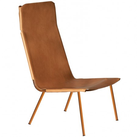 Ply Metal Lounge Chair