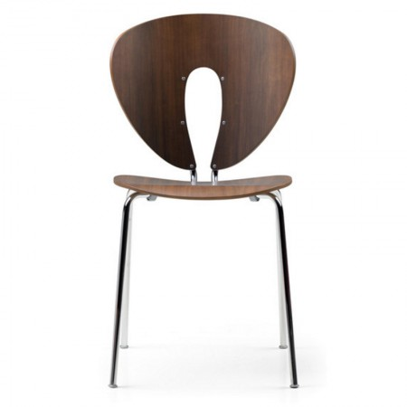 Globus Chair Steel Wood