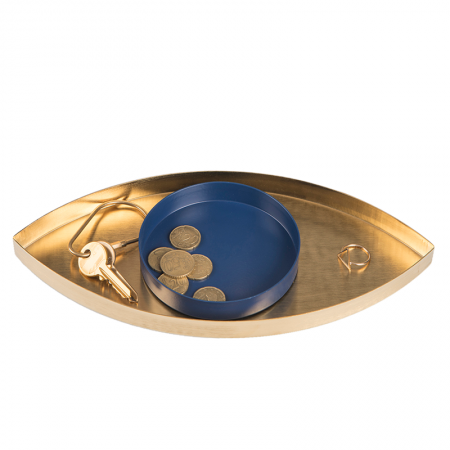 The Eye Gold and Blue QD