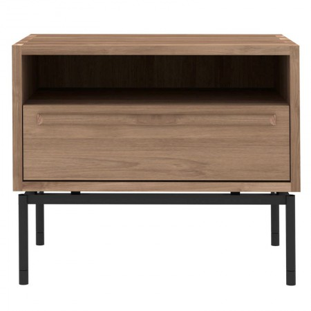 HP Teak Nightstand