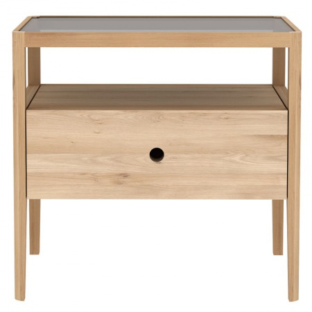 Spindle Oak Nightstand