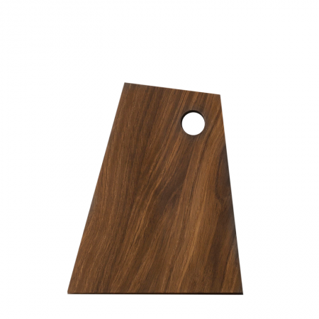 Asymmetric Cutting Board Smoked S QD