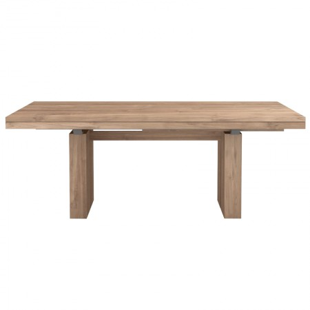 Teak Double Extendable Table