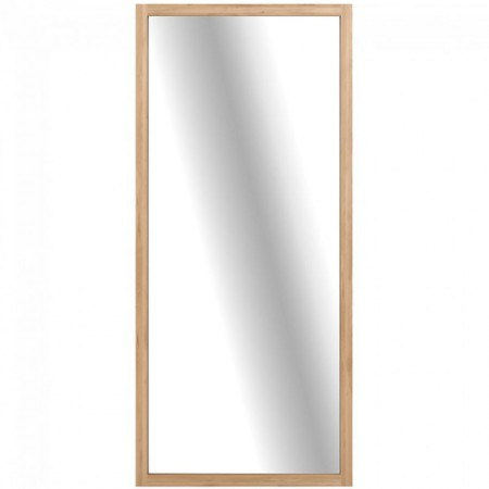 Light Frame Mirror Oak