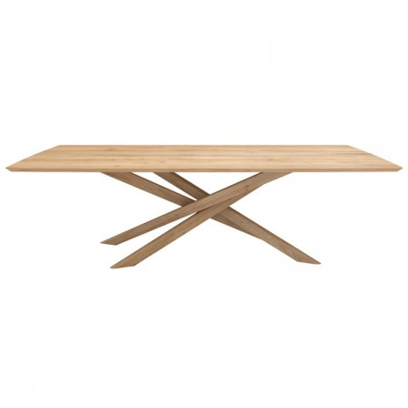Oak Mikado Table