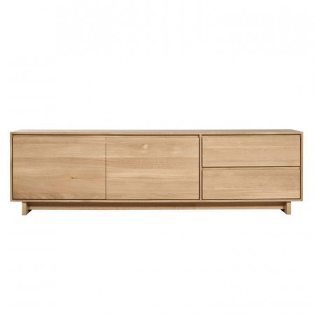 Wave TV Cupboard L Oak