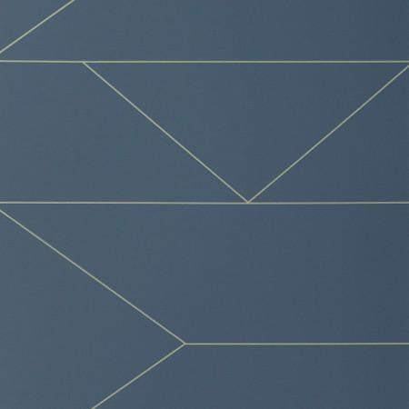 Lines Dark Blue