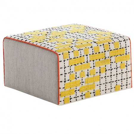 Bandas Pouf C Yellow