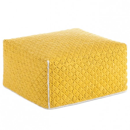 Silaï Yellow L Pouf