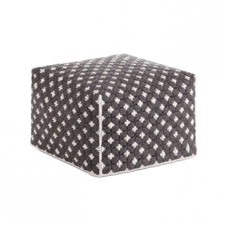 Silaï Dark Grey S Pouf
