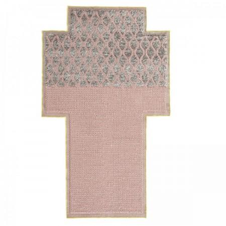 Rhombus Pink Rug