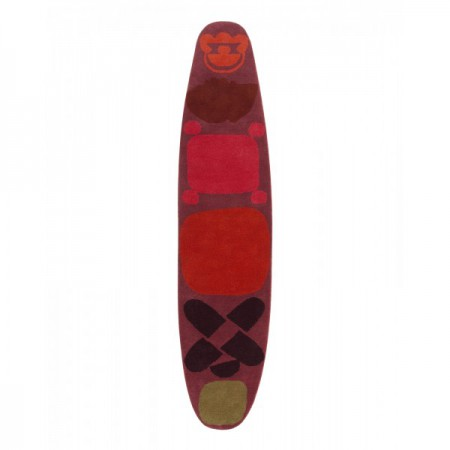 Surf Red Race Rug