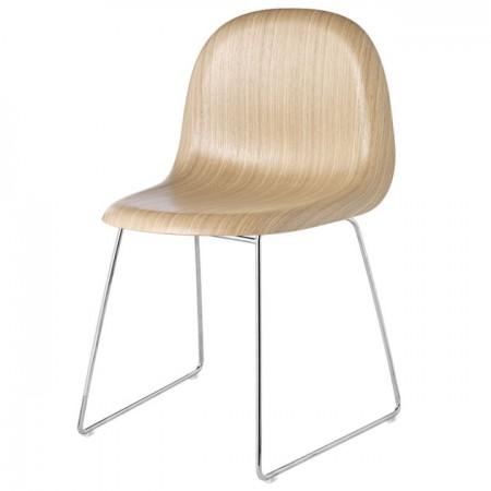 Gubi 1 Wood Chair
