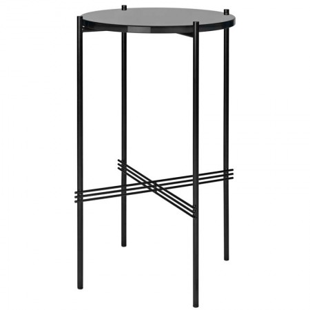 TS Round Glass Side Table