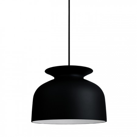 (Pack 2 Units) Ronde 40 Pendant Lamp Charcoal Black
