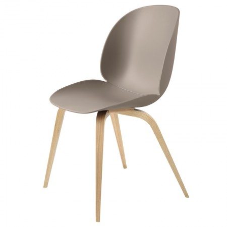 Beetle Dining Chair - Wood Base