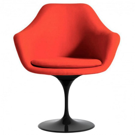 Tulip Arm Chair Upholstered