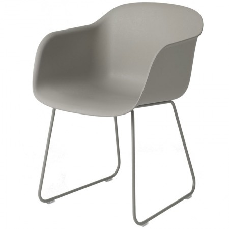 Fiber Sled Chair
