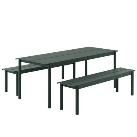 Linear Steel Table