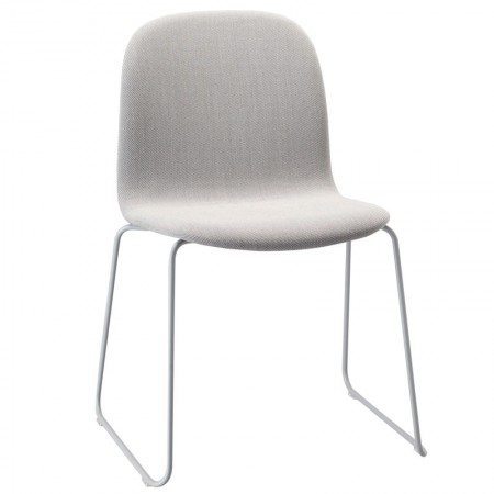 Visu Sled Chair Upholstered