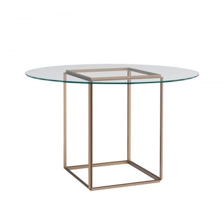 Gold Florence Dining Table