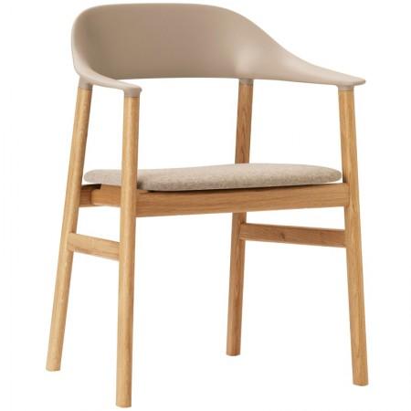 Herit Armchair Upholstered