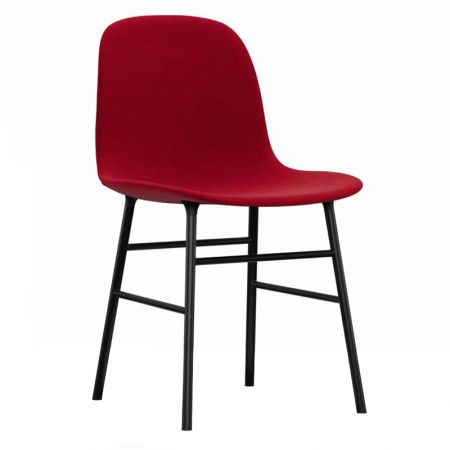 Form Steel Chair Upholstered