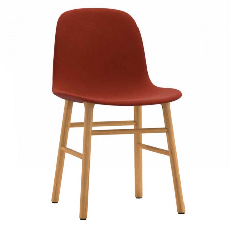 Form Wood Chair Upholstered