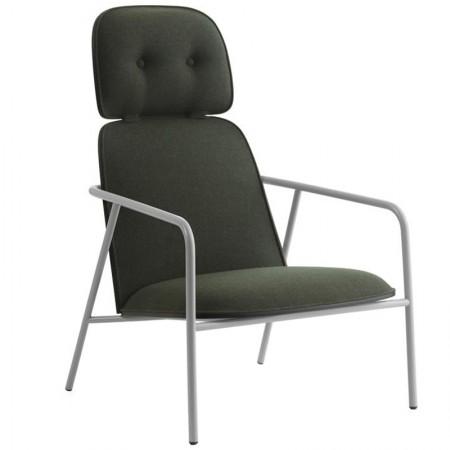 Pad Lounge High Armchair