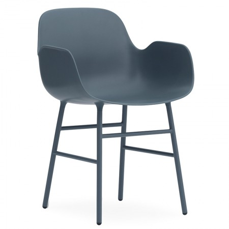 Form Arms Steel Chair