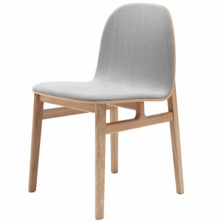 Terra Upholstered Wood Chair