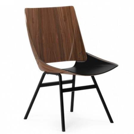 Shell Chair Walnut / Leather
