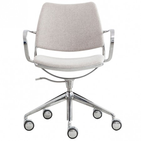 Gas Chair Castors Chrome