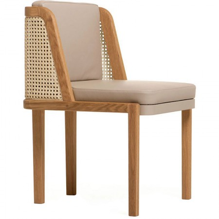 272 Throne Chair Rattan
