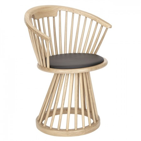Fan Dining Chair Natural