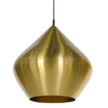 Beat Stout Brass Lamp