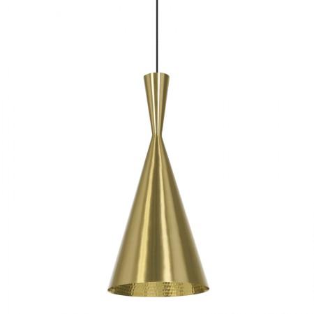 Beat Tall Brass Pendant Lamp