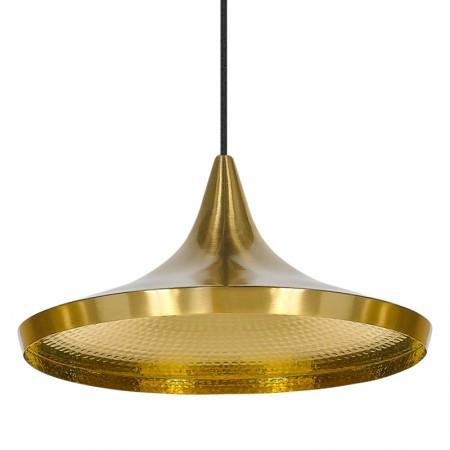 Beat Wide Brass Pendant Lamp