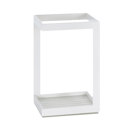 Window White Umbrella Stand