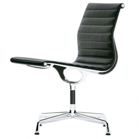 Aluminium Chair EA 105 Leather