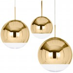 Mirror Ball Gold Pendant Lamp