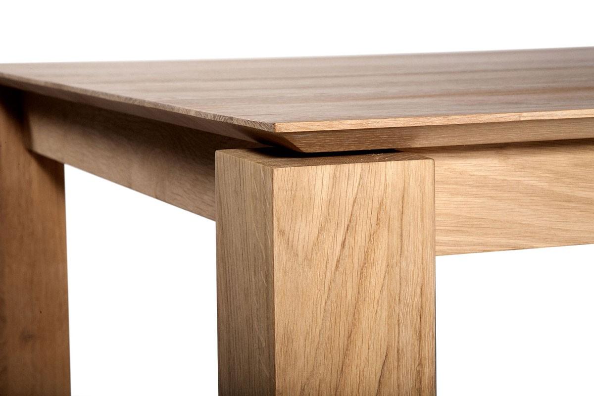 Oak Slice Extendable Table Ethnicraft Brands