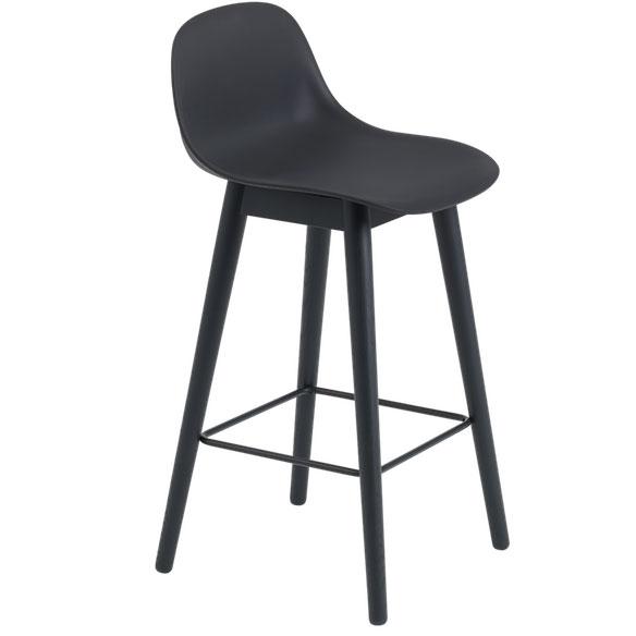 Strange Fiber Wood High Back Stool Beatyapartments Chair Design Images Beatyapartmentscom