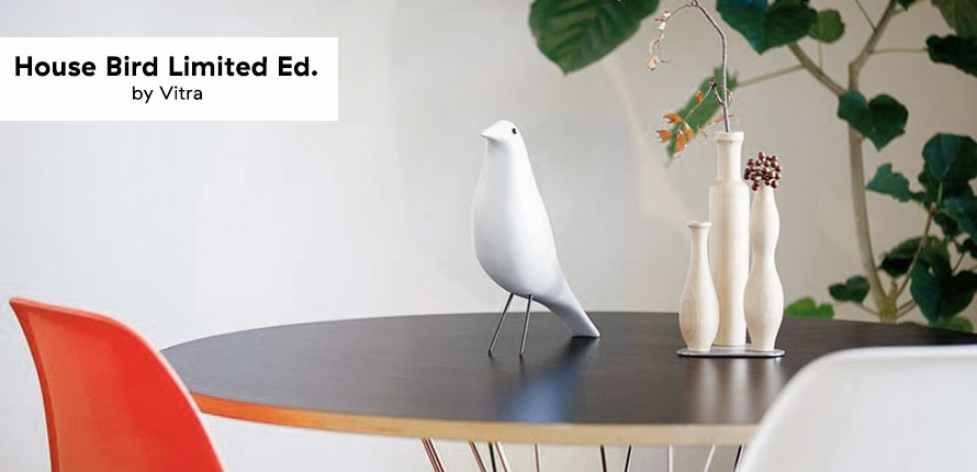 Vitra - Eames - House Bird White - Limited Ed.