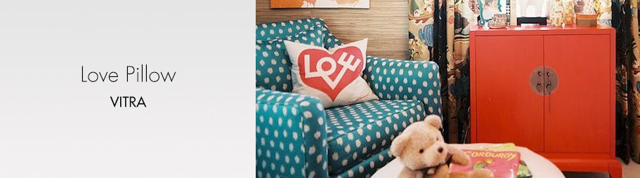 banner love pillow