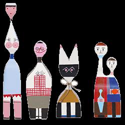 Wooden-Dolls