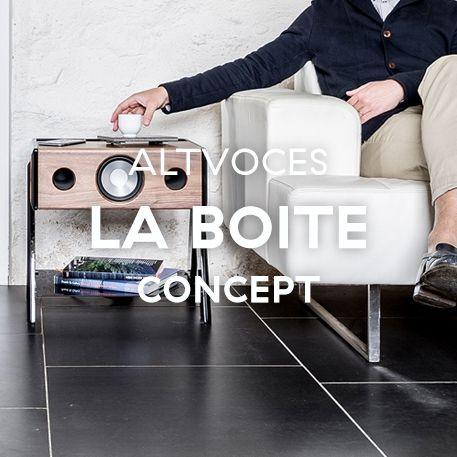 Altavoces La Boite Concept