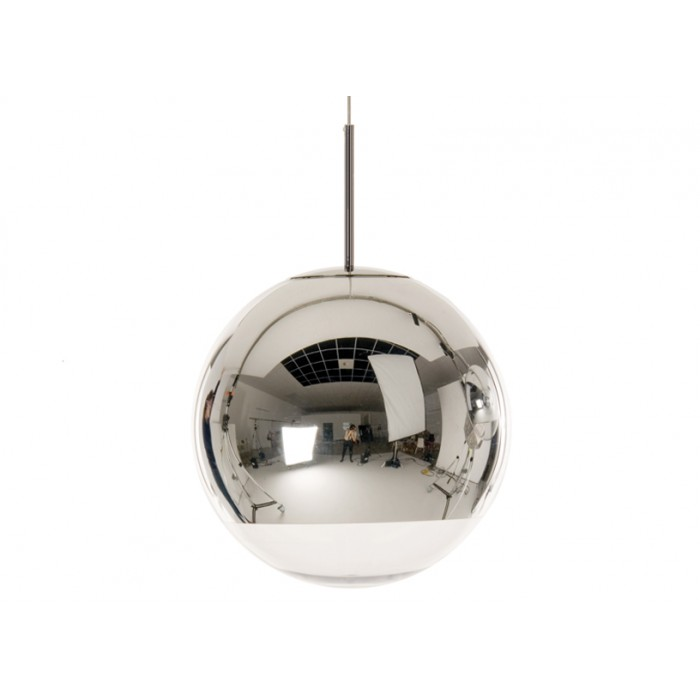 Lmpara mirror ball silver pendant 400 mm 62920 aloadofball Image collections